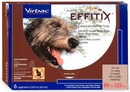 Effitix Topical solution for Dogs 89-132 lbs. - 6 Months