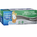 Fresh Step Unscented Drawstring Litter Box Liner