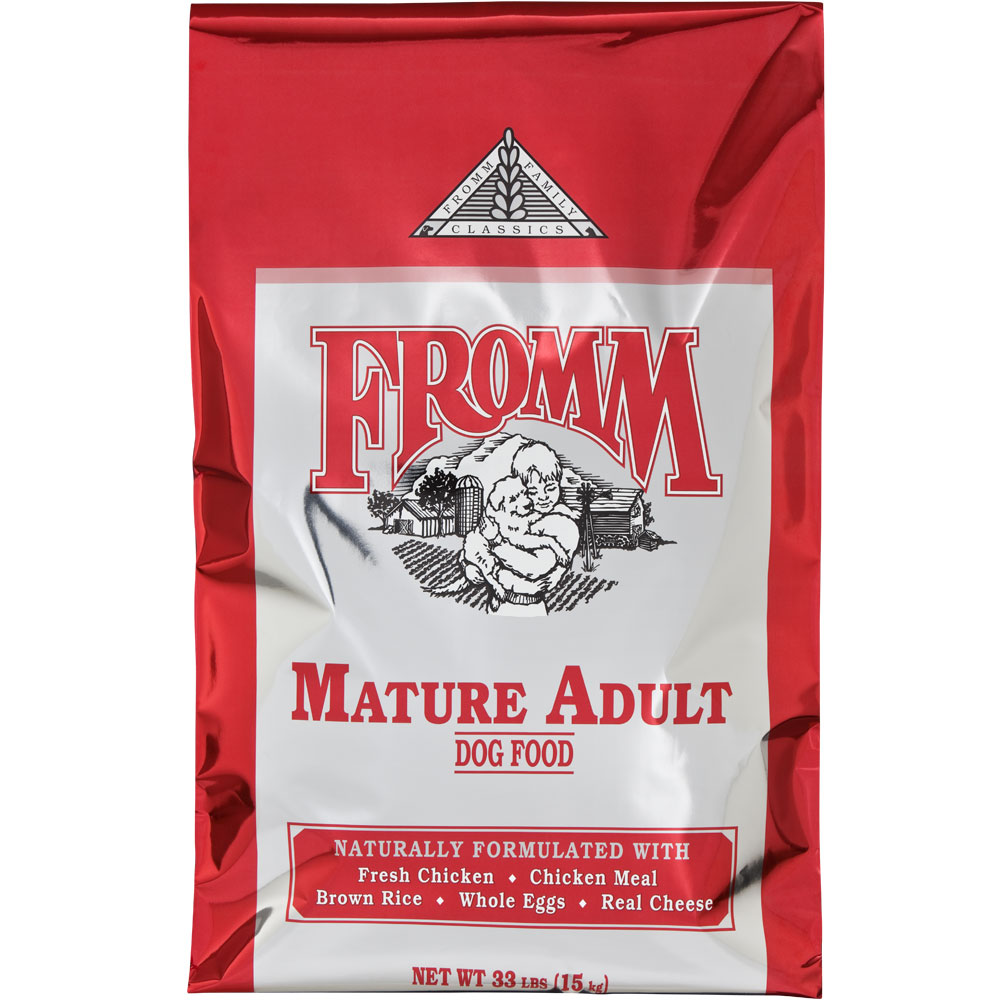 Fromm Mature Dog Food Reviews