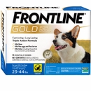 Frontline GOLD for Dogs 23-44 lbs - BLUE (6 MONTH)