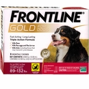 Frontline GOLD for Dogs 89-132 lbs - RED (3 MONTH)