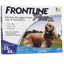 Frontline Plus for Dogs 23-44 lbs - BLUE, 3 MONTH