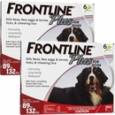 Frontline Plus for Dogs 89-132 lbs - RED, 12 MONTH