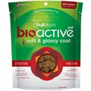 Fruitables BioActive Soft & Glossy Coat Dog Treats (6 oz)
