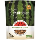 Fruitables Skinny Minis Soft & Chewy Dog Treats - Watermelon (5 oz)