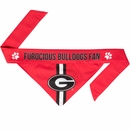 Georgia Bulldogs Dog Bandana - Tie On (Small)
