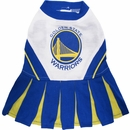 Golden State Warriors Cheerleader Dog Dress - Small