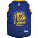 Golden State Warriors Dog Jersey - Small