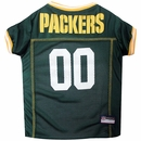 Green Bay Packers Dog Jersey - XSmall