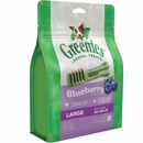 GREENIES Bursting Blueberry Treat-Pak - LARGE 8 Treats (12 oz)