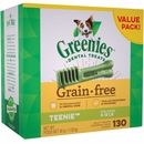 Greenies Dental Chews Grain Free Value Pack - TEENIE 130 Treats (36 oz)