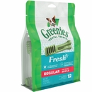 GREENIES Freshmint Treat-Pak - REGULAR 12 Treats (12 oz)