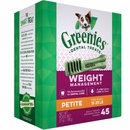 GREENIES Weight Management Treat-Pak - PETITE (27 oz)