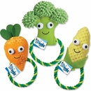 Grriggles Happy Veggies Rope Tug Broccoli