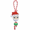 Grriggles Holiday Rope Tennis Tug - Santa