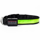 Halo Mini LED Safety Dog Collar Green - Medium
