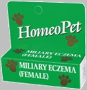 HomeoPet Miliary Eczema Female Cats & Dogs (15mL)