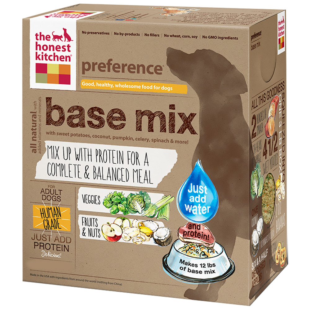 honest kitchen preference dehydrated grain free dog food