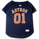 Houston Astros Dog Jersey - Large
