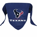 Houston Texans Dog Bandanas