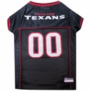 Houston Texans Dog Jersey - Large