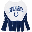 Indianapolis Colts Cheerleader Dog Dress - Medium