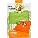 "Insect Shield® Blanket 74""x56"" - Green"