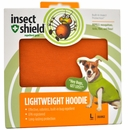 Insect Shield Lightweight Hoodie Large - Orange