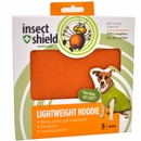 Insect Shield Lightweight Hoodie Small - Orange