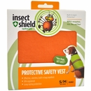 Insect Shield Protective Safety Vest Small/Medium - Orange
