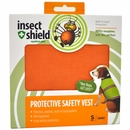 Insect Shield Protective Safety Vest Small - Orange