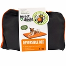 Insect Shield® Reversible Bed Small - Grey/Orange
