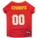 Kansas City Chiefs Dog Jersey - Large