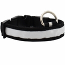 LED Safety Electric Glow Collar - White (Large)