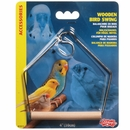 Living World Wooden Perch Swing (5 x 4)