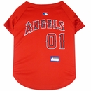 Los Angeles Angels Dog Jersey - XSmall