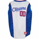 Los Angeles Clippers Dog Jersey - XSmall