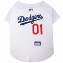 Los Angeles Dodgers Dog Jersey - Small