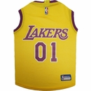 Los Angeles Lakers Dog Jersey - Medium