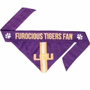 LSU Dog Bandana - Tie On (Small)