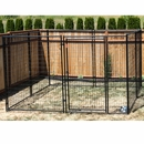Lucky Dog Modular Kennel Welded Wire Kit - 6'H x 10'W x 10'L
