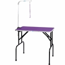 Master Equipment - Grooming Table with 36In Arm - Purple (30x18In)