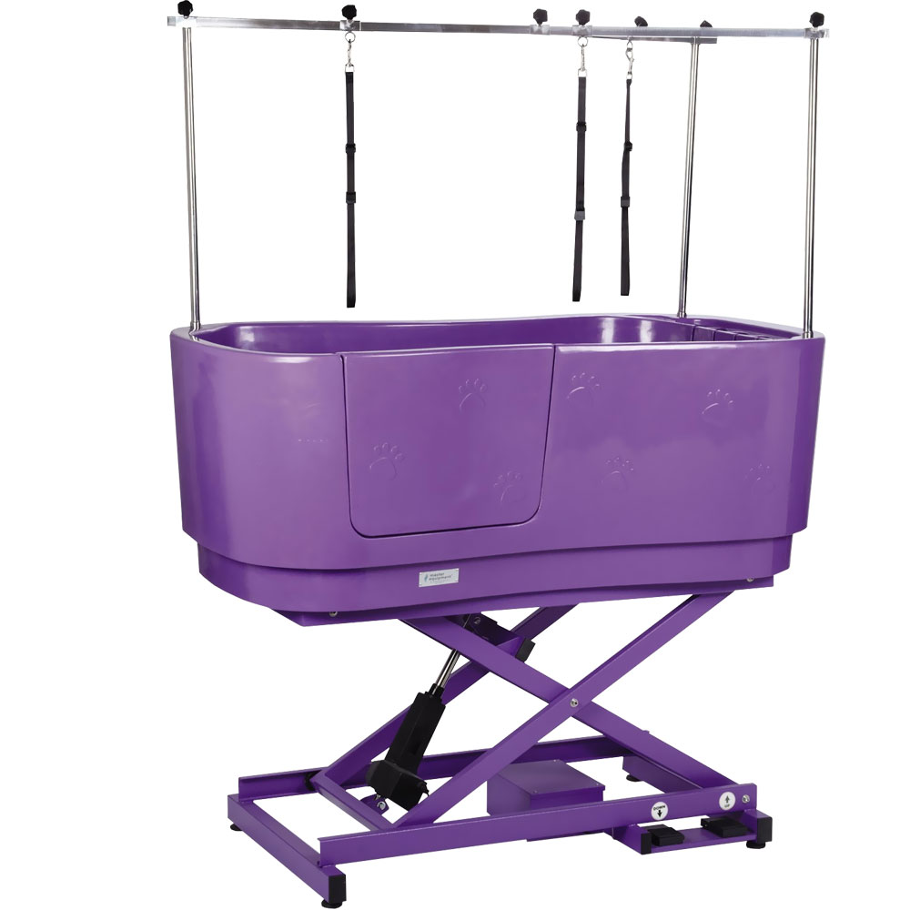 Master Equipment Polypro Lift Grooming Tub Purple