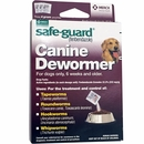 Merck Safeguard Canine Dewormer 3-pack (4 gm)