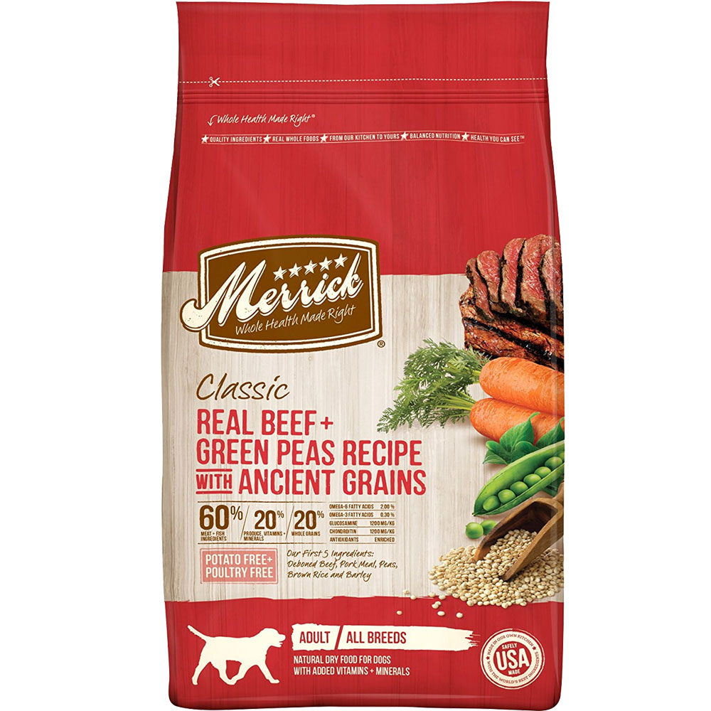 Merrick Classic Real Beef Whole Barley and Carrots Adult