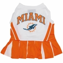 Miami Dolphins Cheerleader Dog Dress - Small
