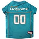 Miami Dolphins Dog Jersey - Large