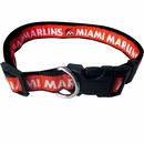 Miami Marlins Collar - Ribbon (Large)