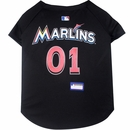 Miami Marlins Dog Jerseys