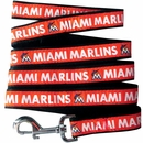 Miami Marlins Dog Leash - Ribbon